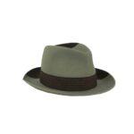 DAVID BICOLOR AW18/19 wool-taupè pearl-dark brown