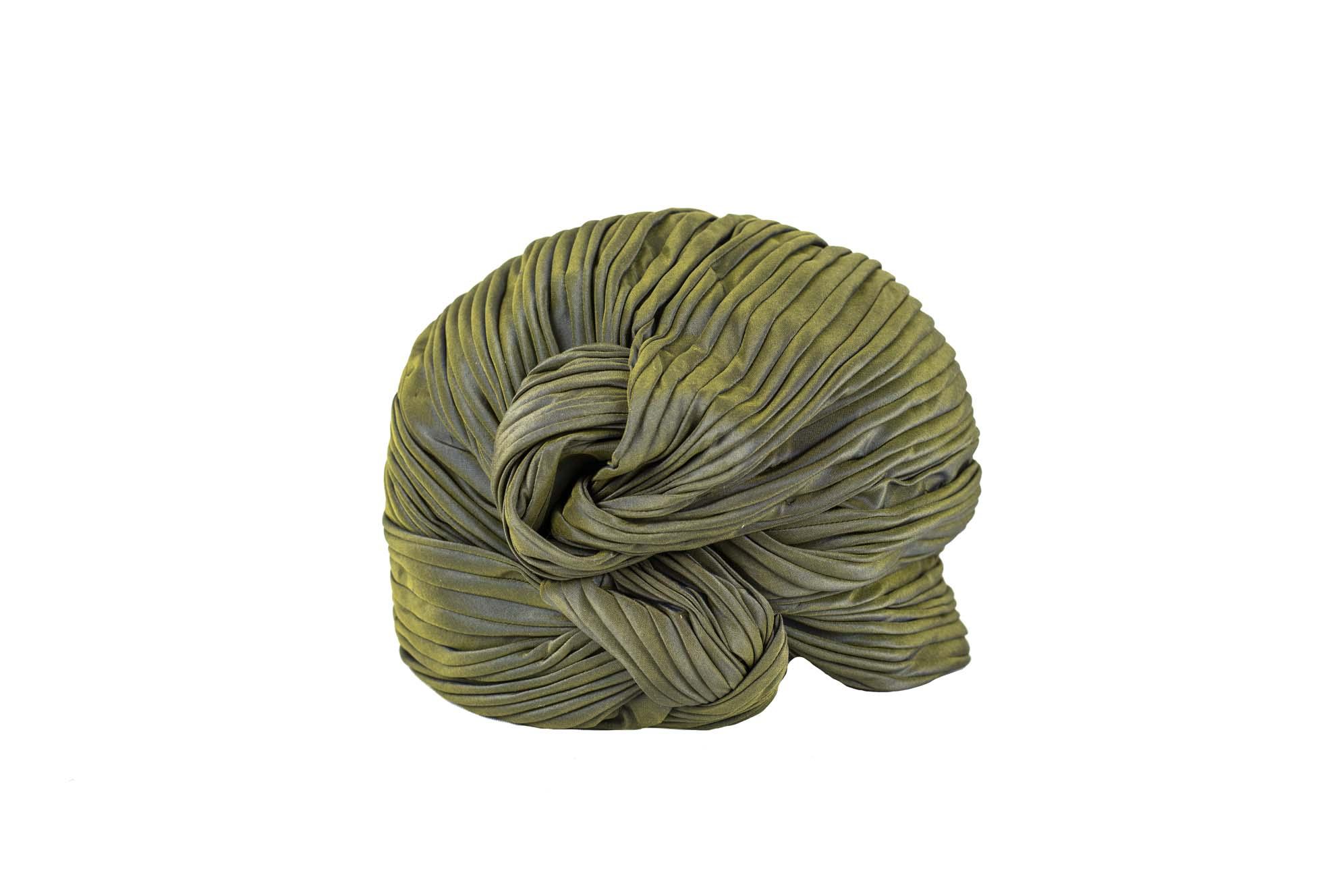 TURBANTE MANNY AW19/20 silk menta