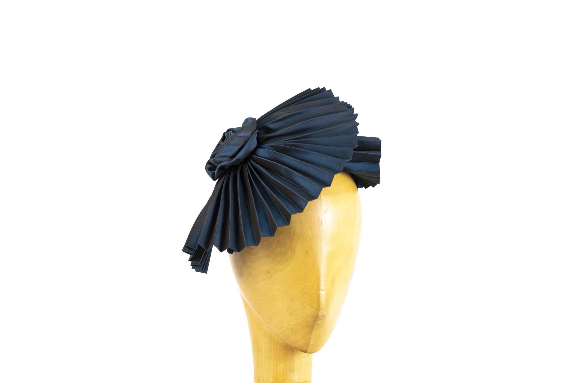 VENTAGLIO AW19/20 silk plissè avio