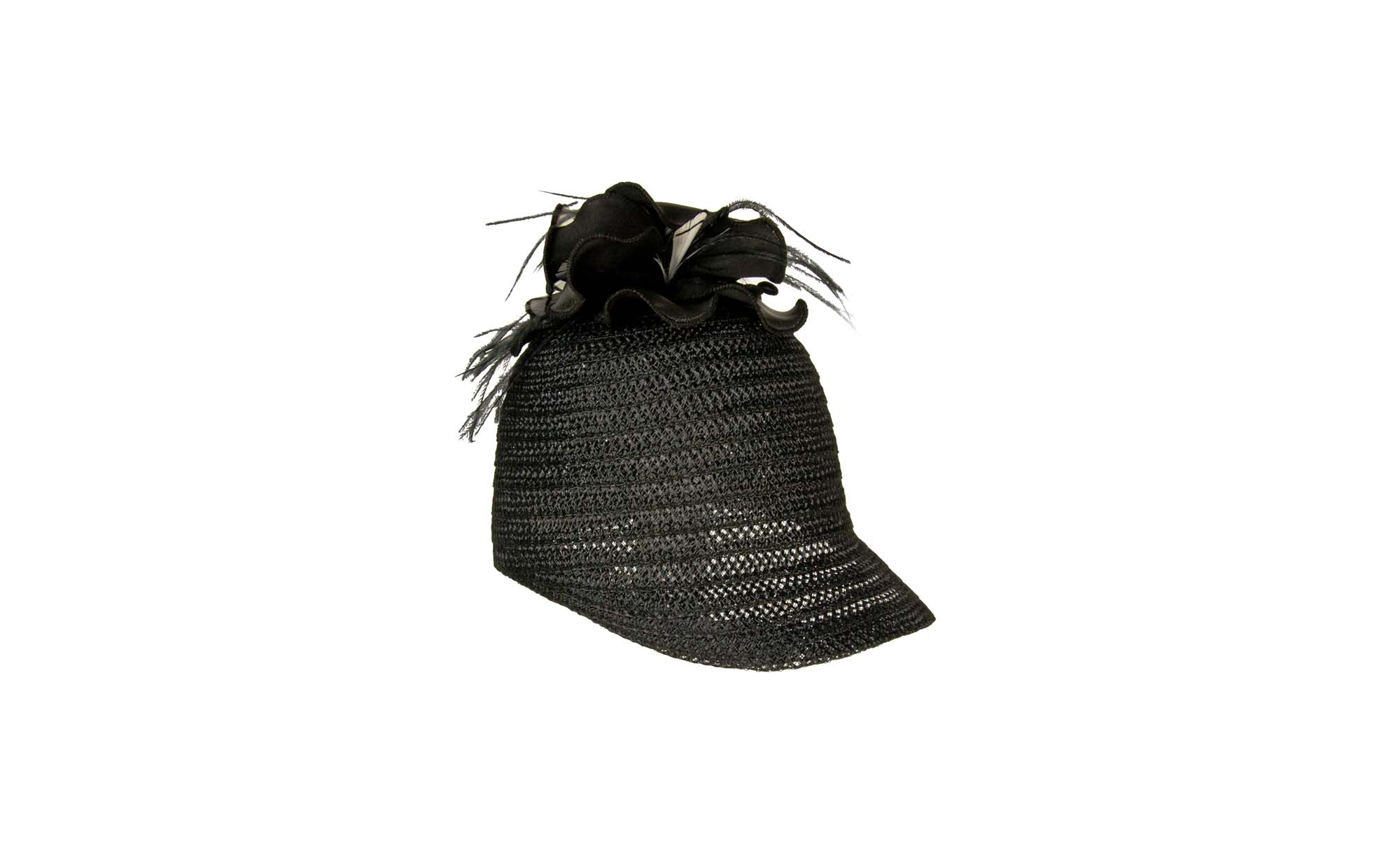 HORSE SS16 Crine eco-Leather Flower Black